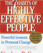 Seven Habits of Highly Effective People, The Samenvatting