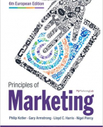 Principles of Marketing CH20 - POM IBS1 KDG