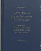 Samenvatting Handboek Van Het Nederlandse Staatsrecht