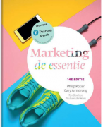 Samenvatting van marketing