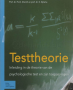 Samenvatting Psychodiagnostiek 1